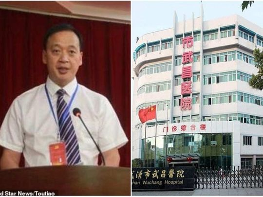 Image result for wuhan main doctor died