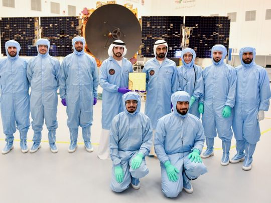 UAE's mission to mars: last metal piece of Hope Probe installed