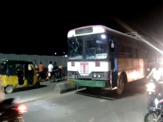 India: Telangana man steals state transport bus after he fails to find a conveyance