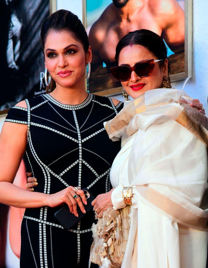 Isha Koppikar and Rekha