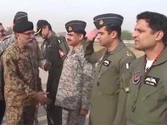 Pakistan Missile test team