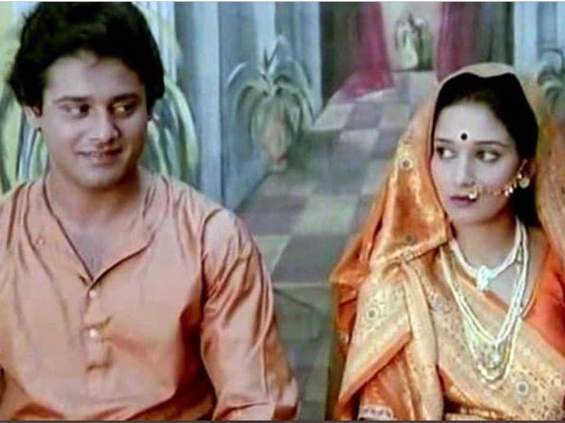 Tapas Pal with Madhuri Dixit
