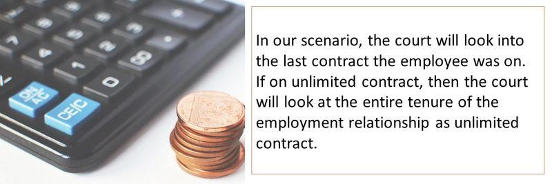 UAE gratuity calculation 18