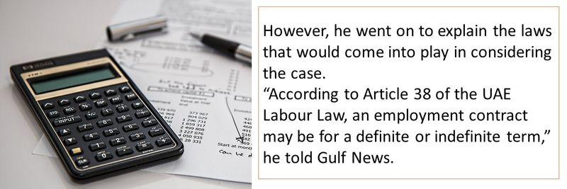 UAE gratuity calculation 5