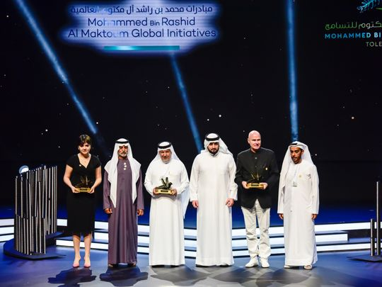 Winners of global tolerance award in UAE revealed