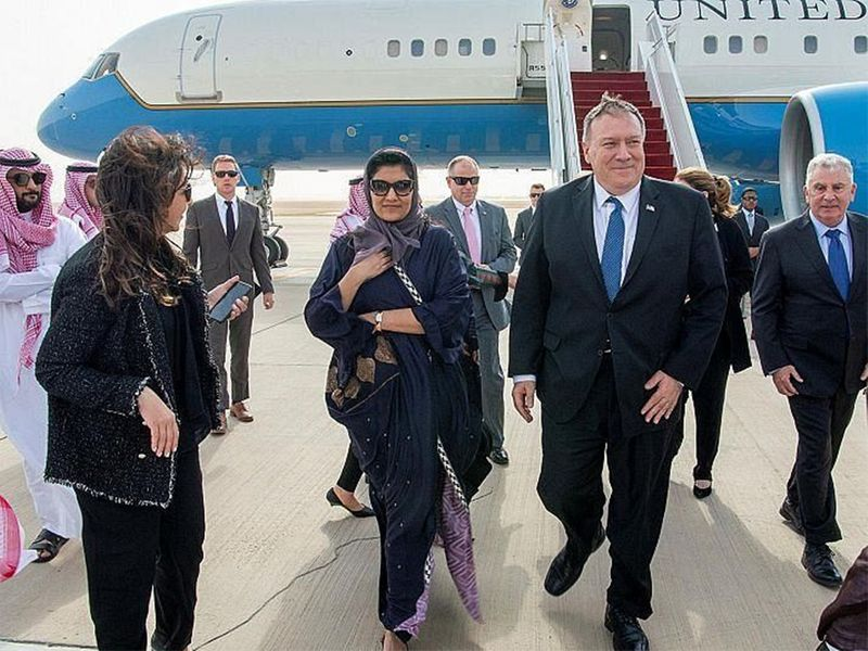 20200222_Pompeo_arrives to Riyadh