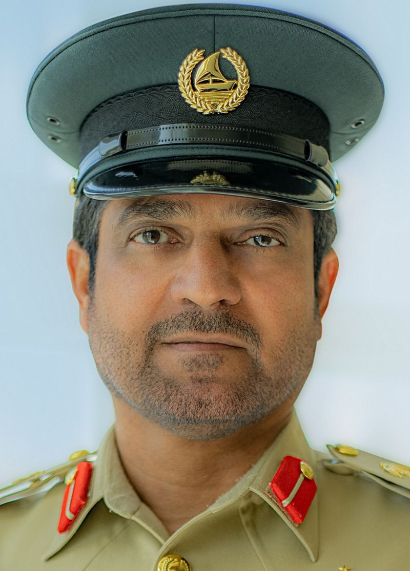 Brigadier Saeed Hamad Bin Sulaiman Al Malik, Director of Al Rashidiya Police Station, Chairman of the Board of Directors of Police Station