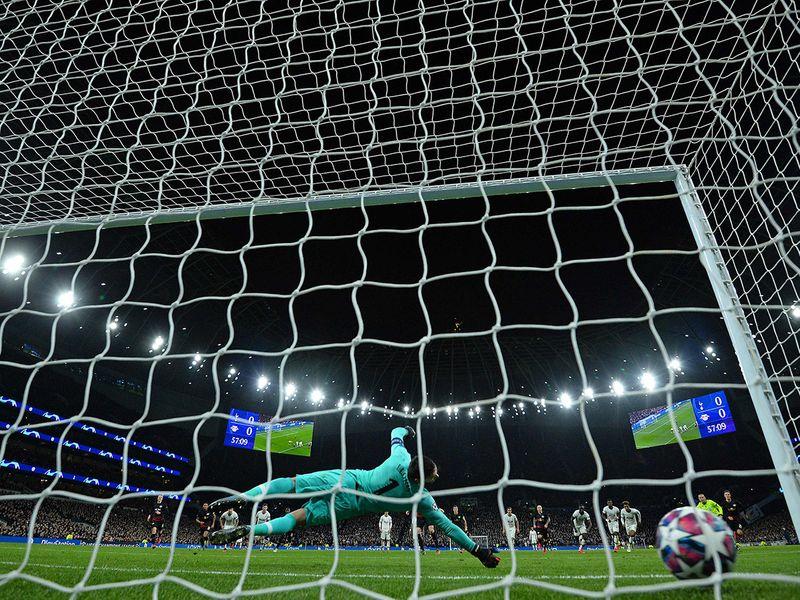 Leipzig defeat Tottenham