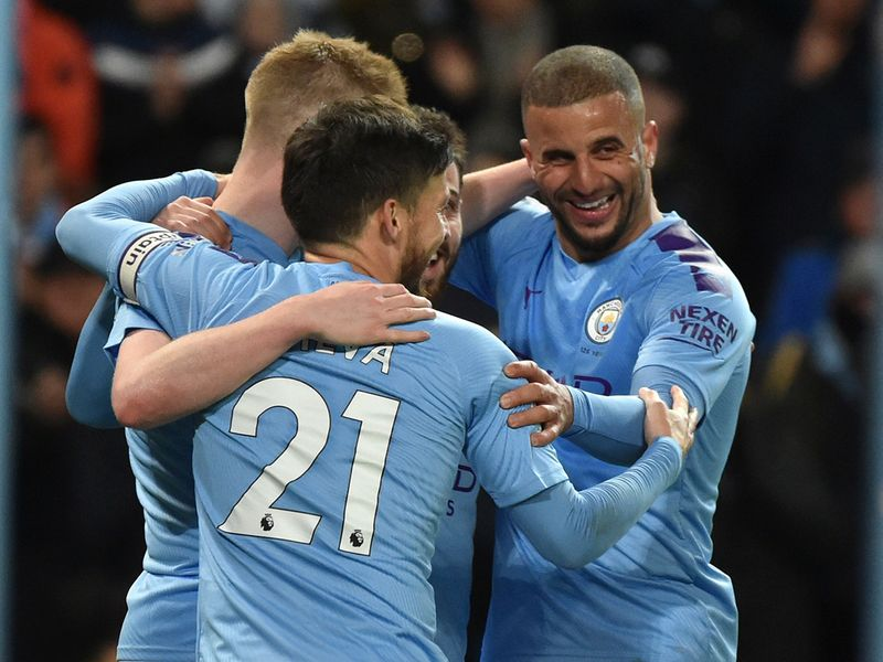 Manchester City defeated West Ham in the Premier League