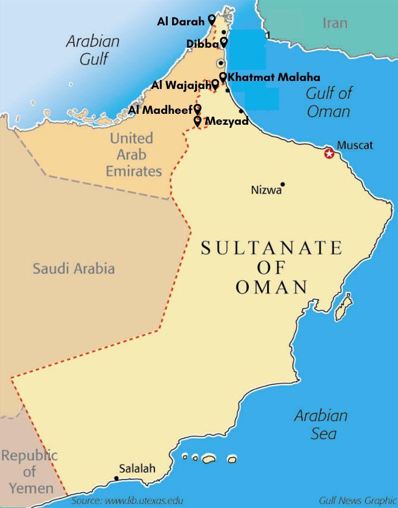Oman visa
