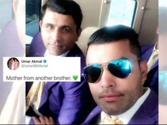 Umar Akmal's tweet