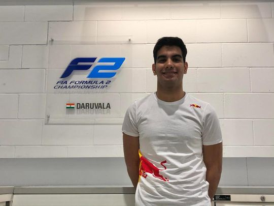 India's Jehan Daruvala signed by Red Bull Formula One team