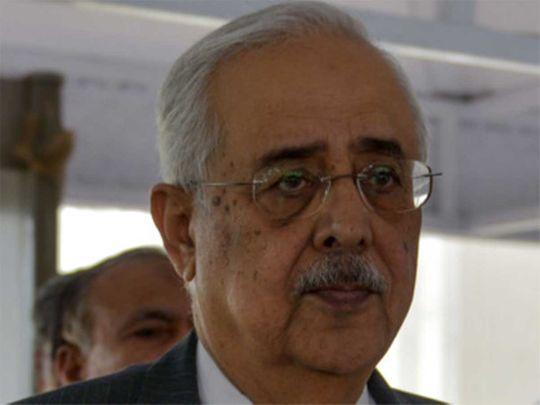Pakistan's Attorney-General Anwar Mansoor Khan