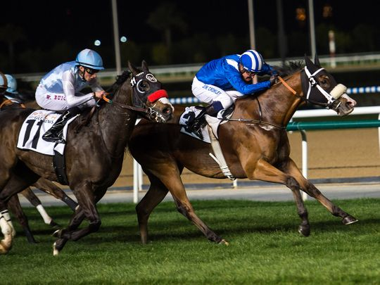 Waady won at Meydan on Thursday night