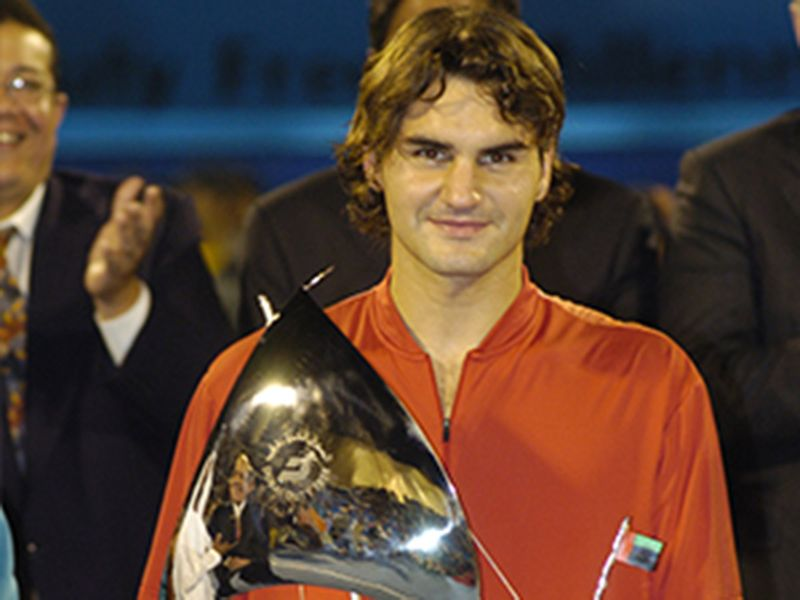 2005: Federer completes his hat-trick of consecutive titles