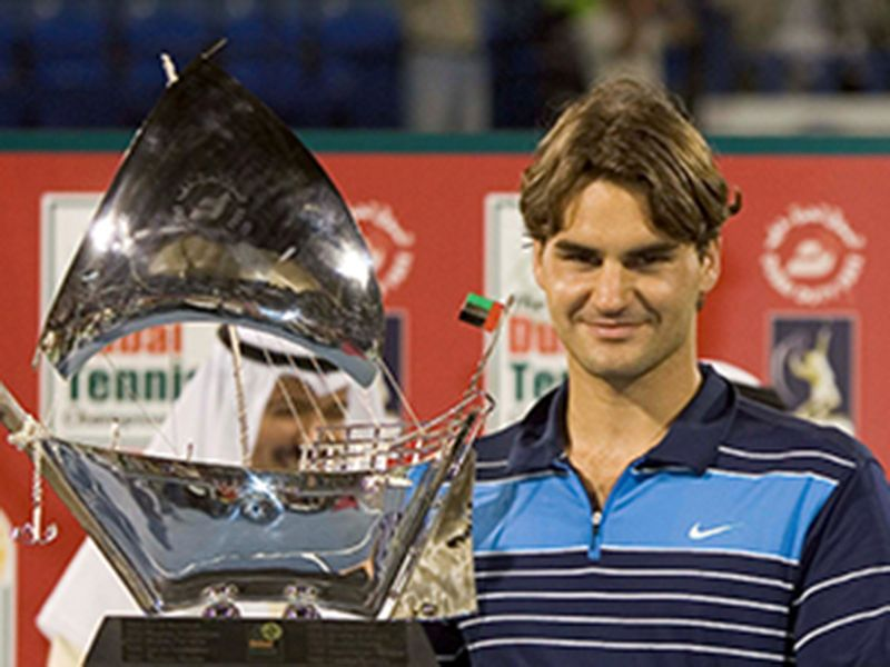 2007: Federer is back with a bang to claim his fourth Dubai title