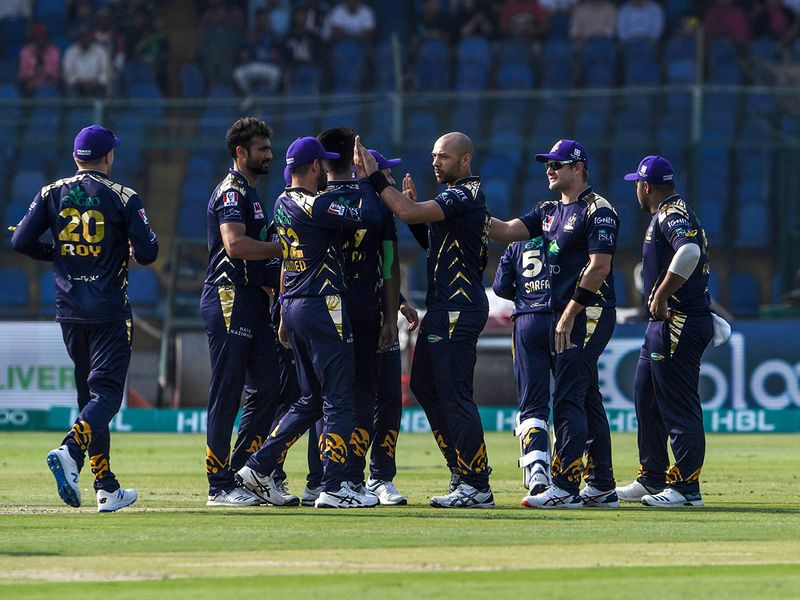Banton's dismissal was a rare high moment for Quetta on a day they would rather forget