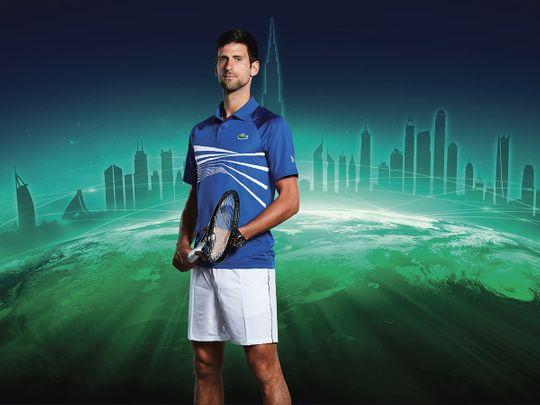 Novak Djokovic is the favourite in Dubai
