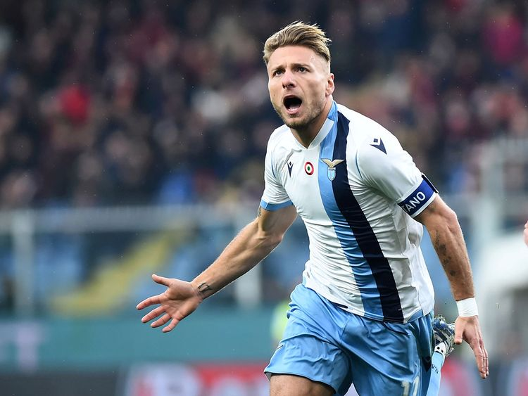 Immobile on target to help Lazio stay in title-chase | Football ...