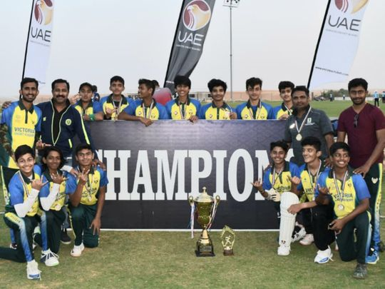 Victoria Cricket Academy emerged as the champions of the Under-15 Emirates Cricket League championship