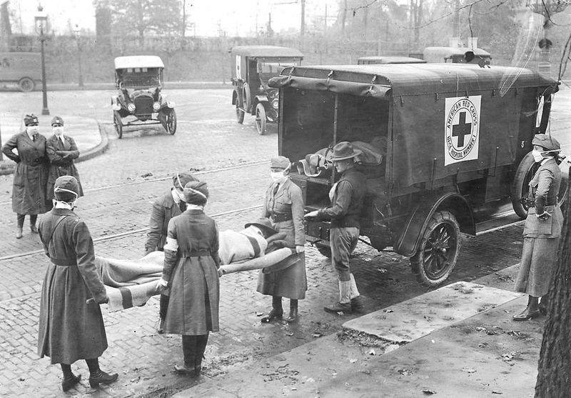 American Red Cross Spanish flu