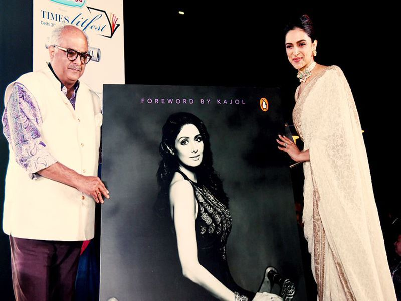Boney Kapoor and Deepika Padukone