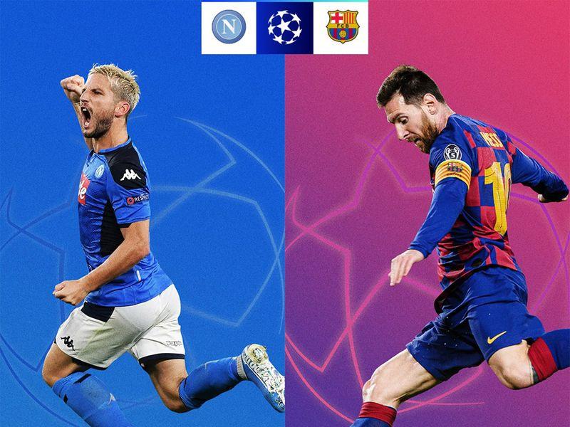 Napoli host Barcelona