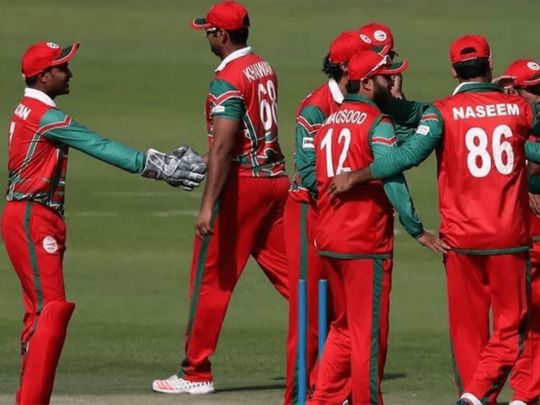 Oman were playing in the UAE at the T20 World Cup qualifiers