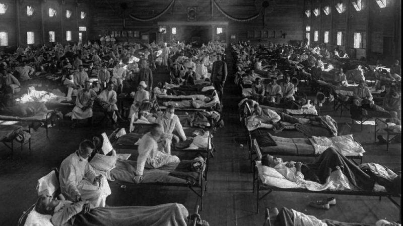 Spanish flu pandemic 1918
