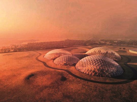 The UAE aims to establish the first inhabitable human settlement in Mars by 2117