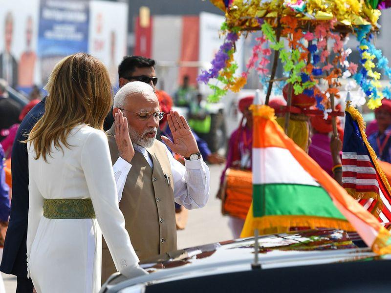 Trump India 02
