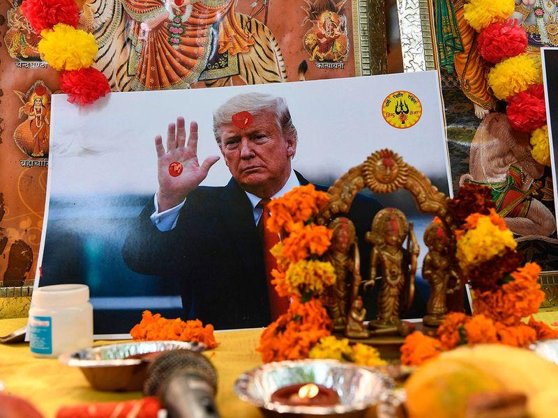 Trump India 06
