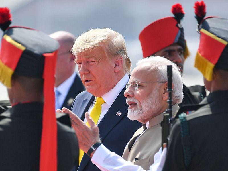 Trump India 08