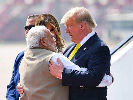 Trump India