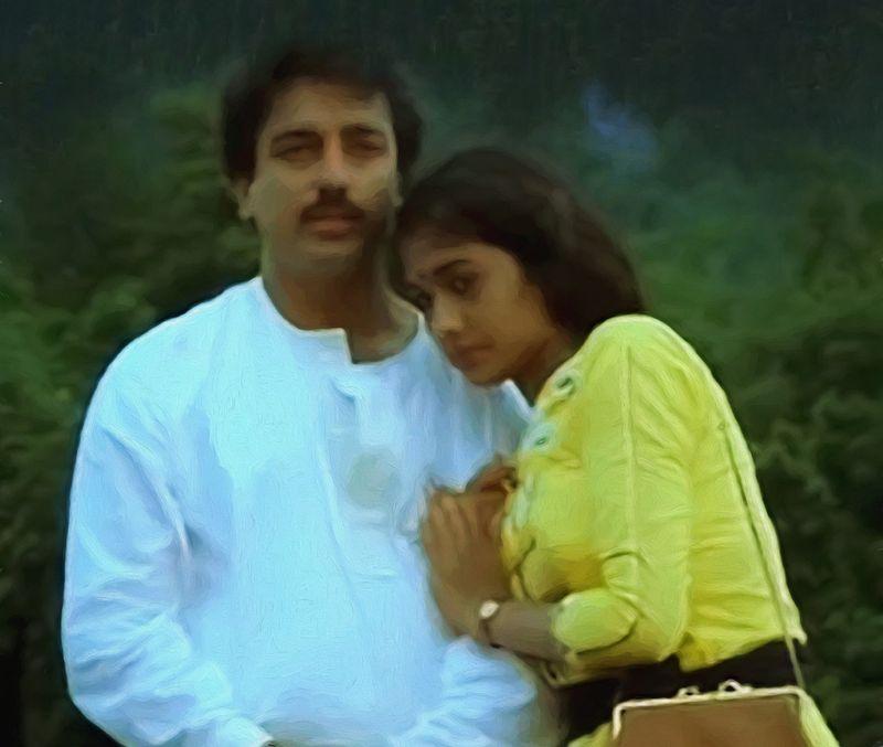Kamal Haasan with Rekha