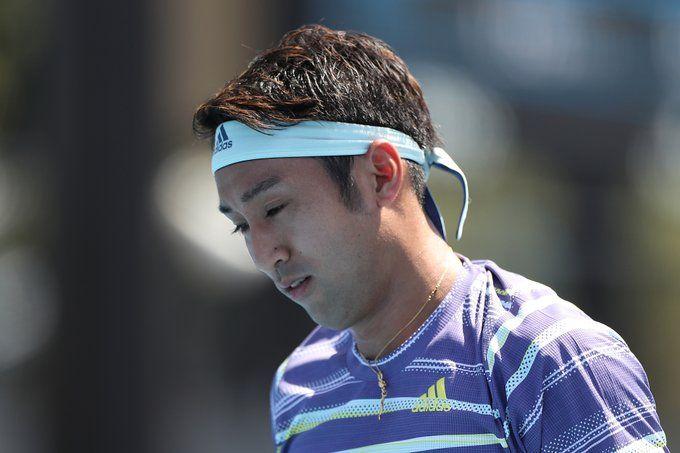 Lu Yen-hsun of Tapie lost to Japan's Yasutaka Uchiyama 3-6,6-1,6-2