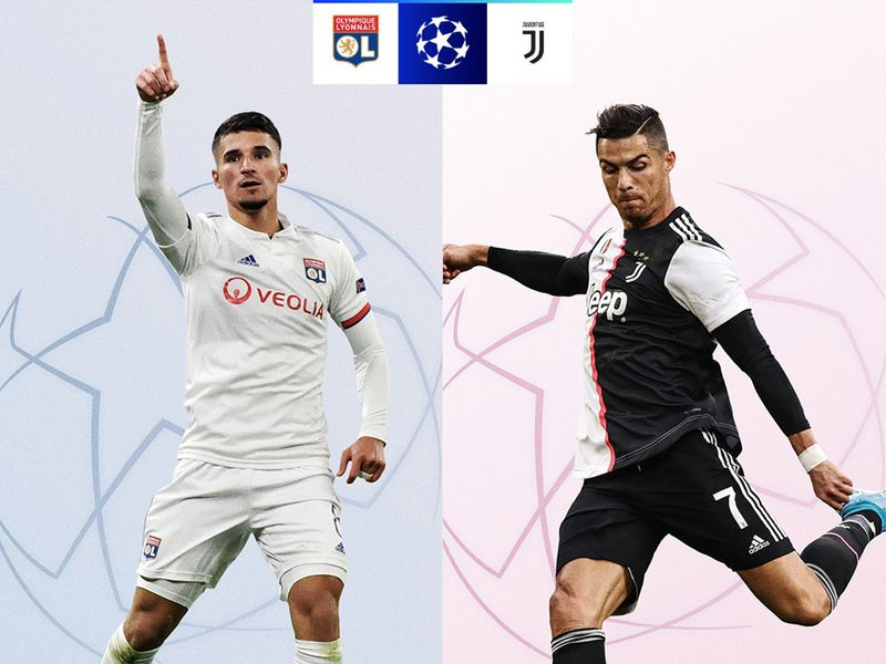 Lyon take on Juventus