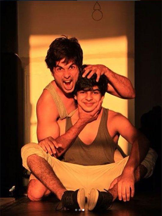 Shahid Kapoor and Ishan Khatter