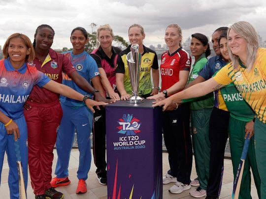 Women's T20 World Cup captains