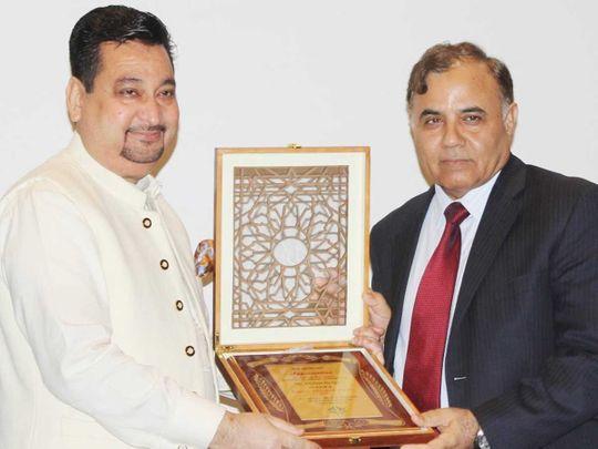 Zaheer Awarn and Ambassador Dastgir