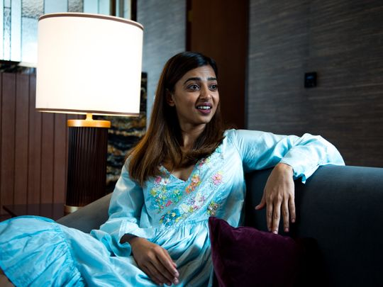 Bollywood actress Radhika Apte
