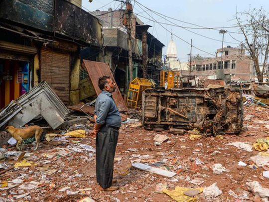 Delhi clashes