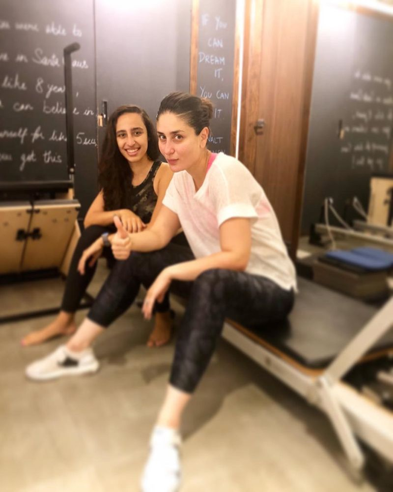 Kareena Kapoor Khan with trainer Namrata Purohit