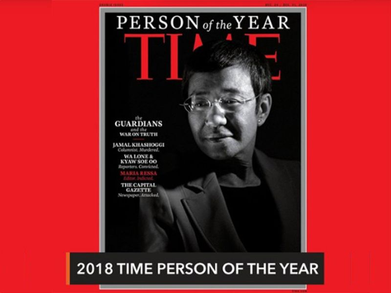 Maria Time person of the year