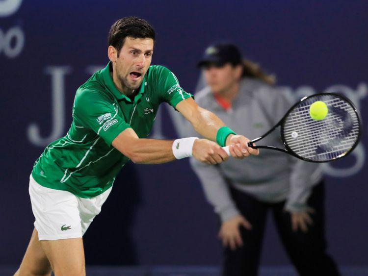 Novak Djokovic Gael Monfils Book Quarter Final Spots In Dubai Duty Free Men S Open Tennis Gulf News