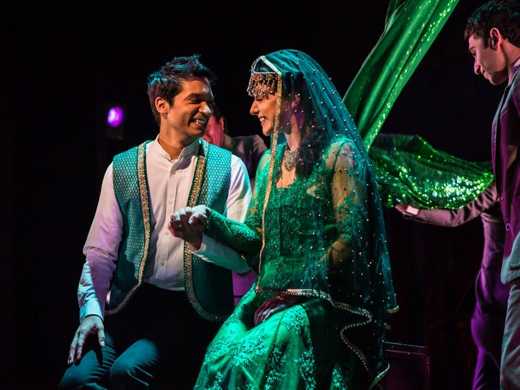 The Kite Runner 2018 - 14 The wedding RAJ GHATAK (Amir) and Amiera Darwish (Soraya) Photo Betty Zapata-1582714839249
