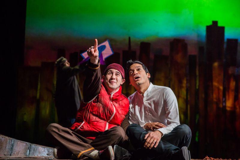 The Kite Runner 2018 - 6 JO BEN AYED (Hassan) and  RAJ GHATAK (Amir)  Photo Betty Zapata-1582714851433