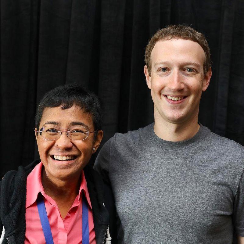 With Facebook Zuckerberg b01212