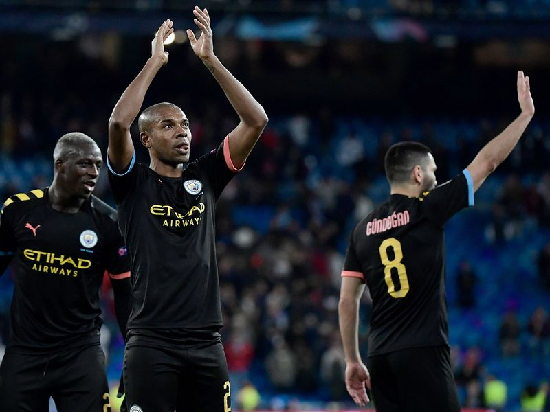 City were left celebrating a famous win on the road in Madrid and are in the driving seat to progress tot he quarter-finals