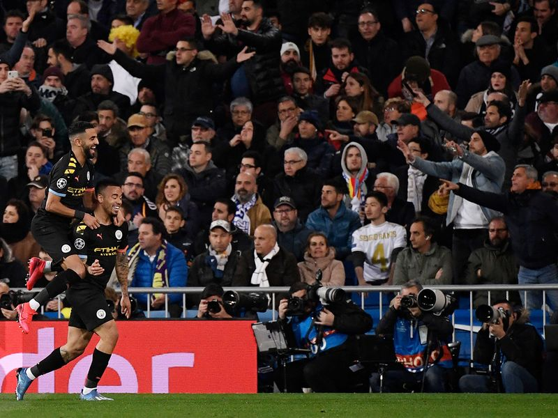 Manchester City fought back and Gabriel Jesus was on hand to level the scores and grab a vital away goal 18 minutes later when he converted Kevin De Bruyne's fine pass